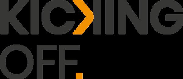 Kicking off Logo