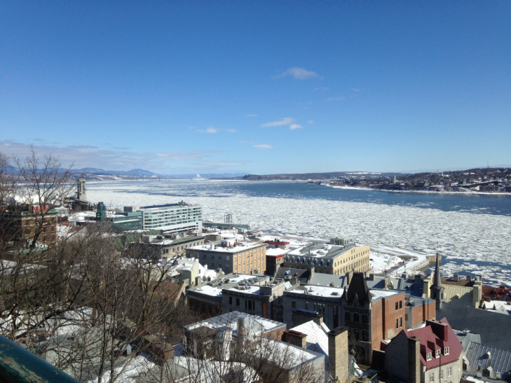 A Frozen River - Quebec City