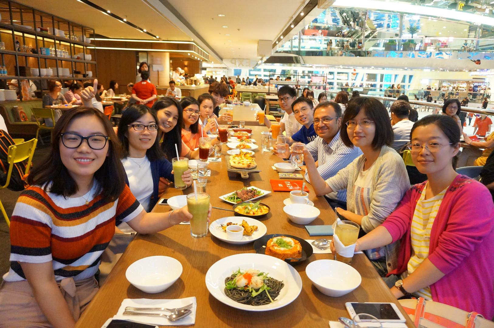 Celebration after Xiya's PhD defense