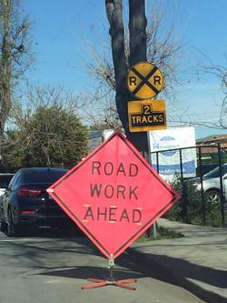 加州 驾照 - 路上标识