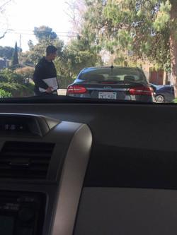 加州 驾照 前车准备考试