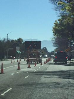 加州 驾照 路障