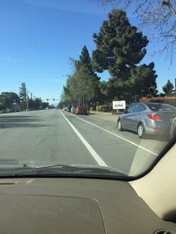 (加州 驾照) 路上考试
