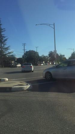 加州 驾照  前车