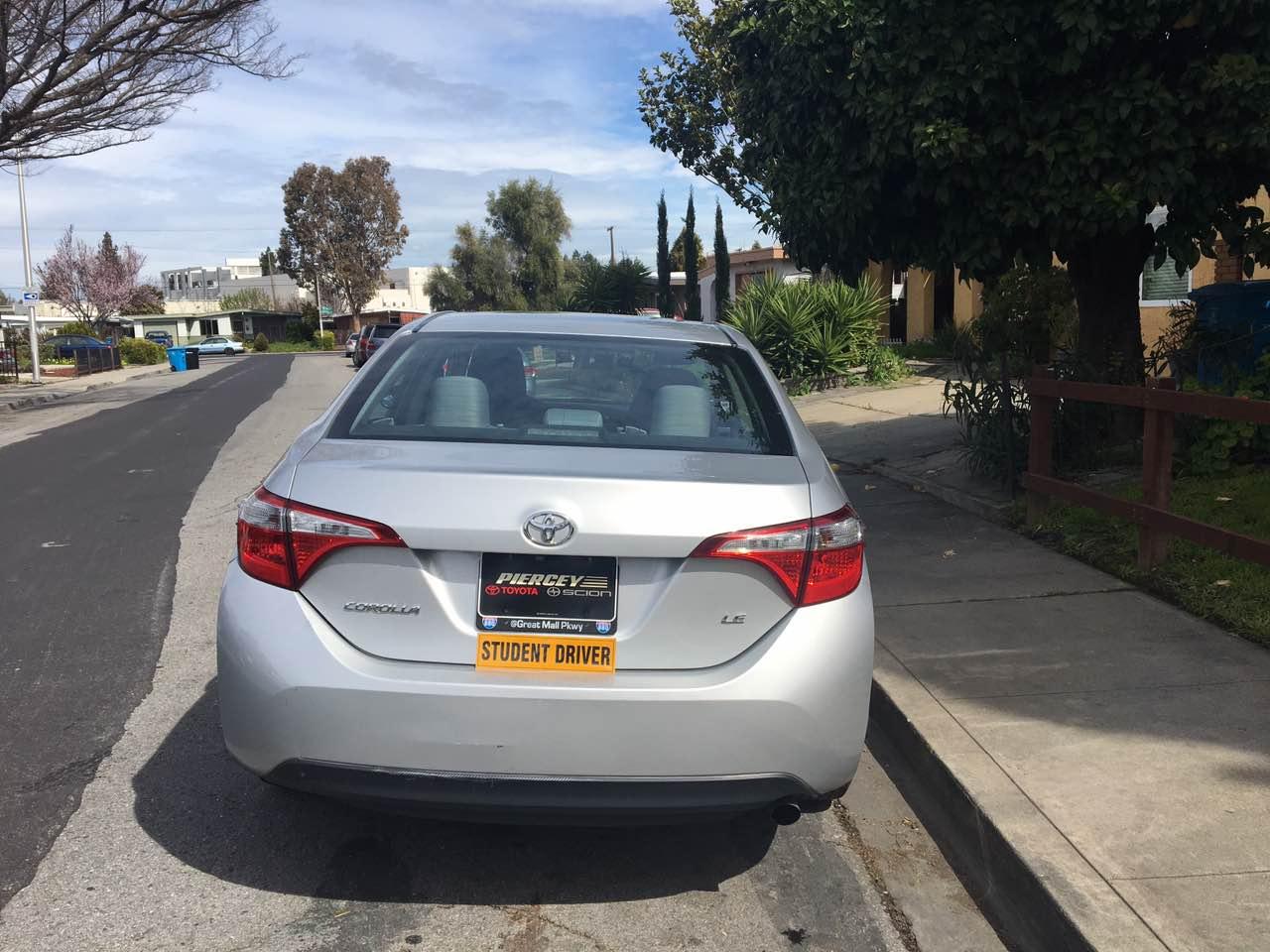 靠边停车(加州 驾照)