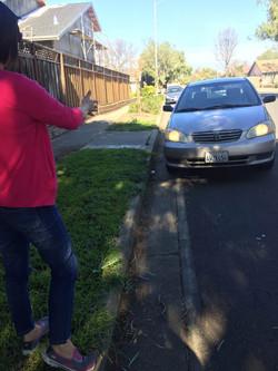 加州 驾照 靠边停车