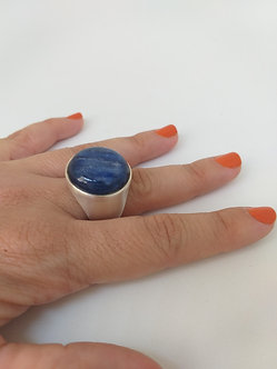 Anel Pedra Azul
