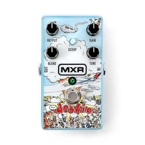 엠엑스알 MXR DD25 Green Day Dookie Drive Effects Pedal 268,000원