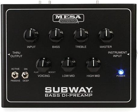 NEW!! Mesa/BoogieSubway + Bass Preamp and DI Box