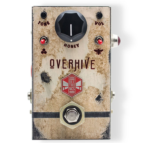 비트로닉스  Beetronics FX Overhive Overdrive Effects Pedal