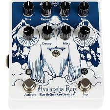 Earthquaker Devices Avalanche Run V2 Special Edition Attack of the Yeti Reverb/D