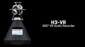 Zoom H3-VR 360° VR Audio Recorder