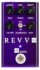 Revv G3 - Preamp/Overdrive/Distortion Pedal