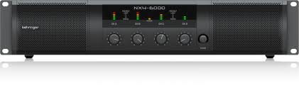 Behringer NX4-6000 Power Amplifier
