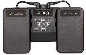 NEW!! AirTurn Duo 200 Transmitter with 2 Pedals