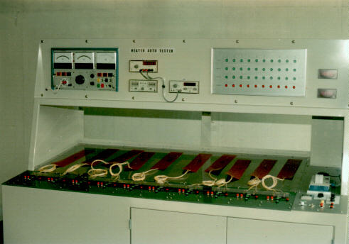 Automatic Heater Inspecting Device