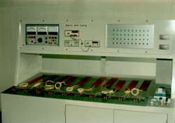 (抵抗,絶縁,耐圧,通電等) ヒーター自動検査装置