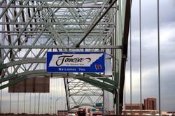 USA - Teneessee - Memphis - Mississipi River Bridge III