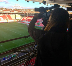 Great experience filming the Celtic Cup