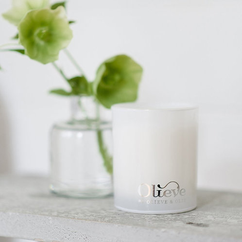 Soy & Olive Oil Candle - Lemongrass & Rosewood