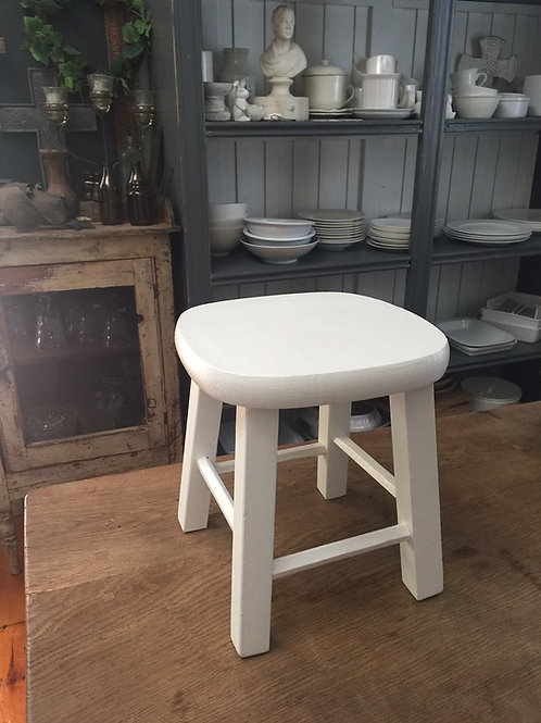 SOLD Small Wooden Stool