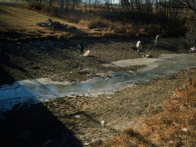 Cleanup During Low Water Levels