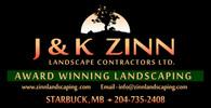 J & K Zinn Landscape Contractors Logo