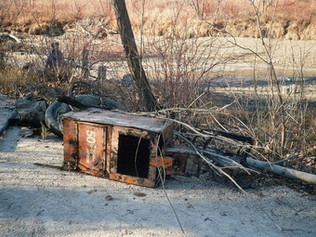 Old Newspaper Box