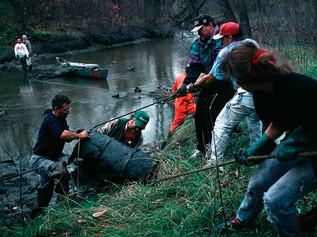 1994 Cleanup near Plinquet St.