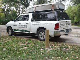 SOS River Keepers Truck