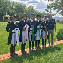 North American Youth Championships 2019 Young Rider Individual - 8th Place  North Salem, New York