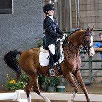 Jenna on Takhosabi at the 2014 Arabian Youth Nationals  Albuquerque, New Mexico