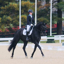 Jenna and Dante Divino at the 2018 US Dressage Finals  Kentucky Horse Park  Photo Credit: Casey Eiten
