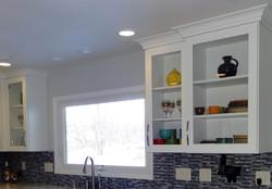 New window & glass cabinets