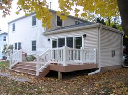 New deck and patio doors