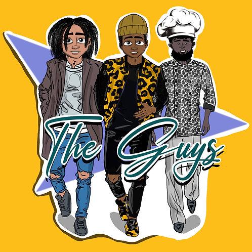THE GUYS STICKER