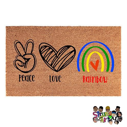 Peace Love Rainbow