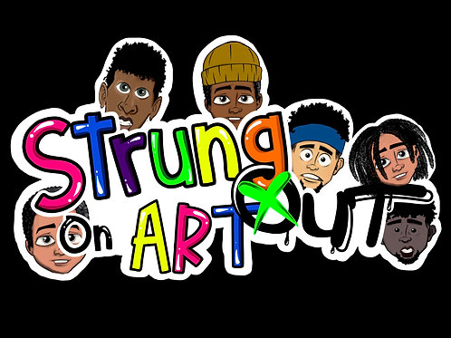 STRUNG OUT ON ART