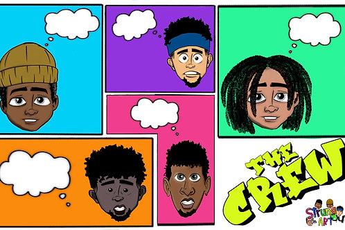 THE CREW COMIC