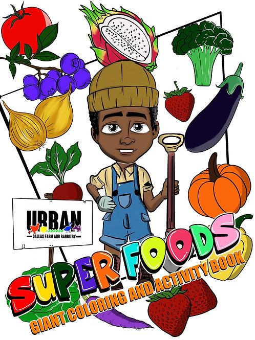 Super Foods Coloring Book