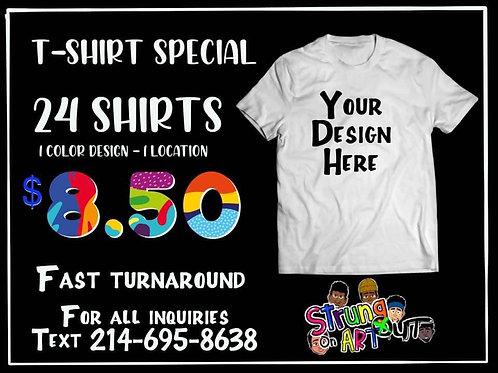 24 Shirts - $8.50 Each