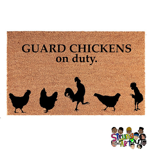 Guard Chickens on duty