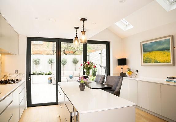 side return extension kitchen rooflight