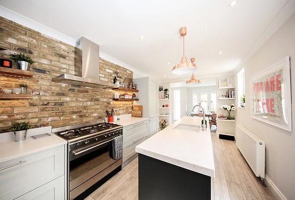 kitchen refurbishment reconfiguration
