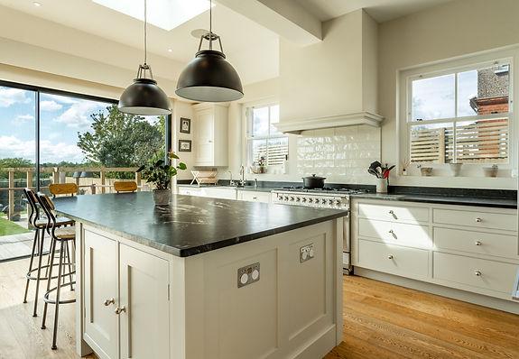extension glazing kitchen island
