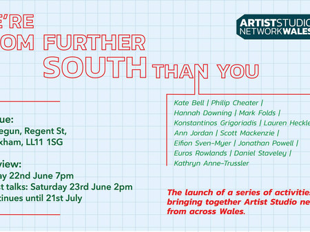 'We're from further south than you' exhibition
