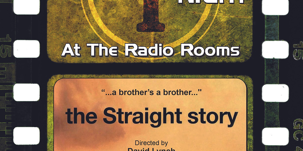 Sound and Vision Film Night: the Straight story