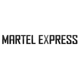 martel express logo png BW