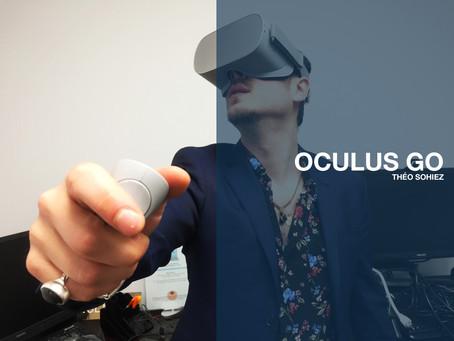 OCULUS GO -  PRINTEMPS NUMÉRIQUE -  ET UN PEU D'ESPOIR DIGITAL -