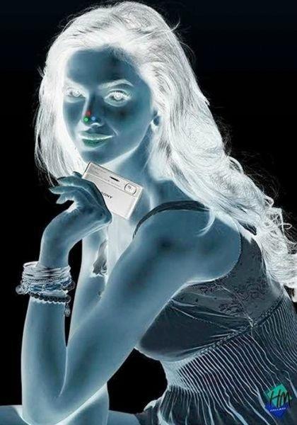 Illusion du visage volant